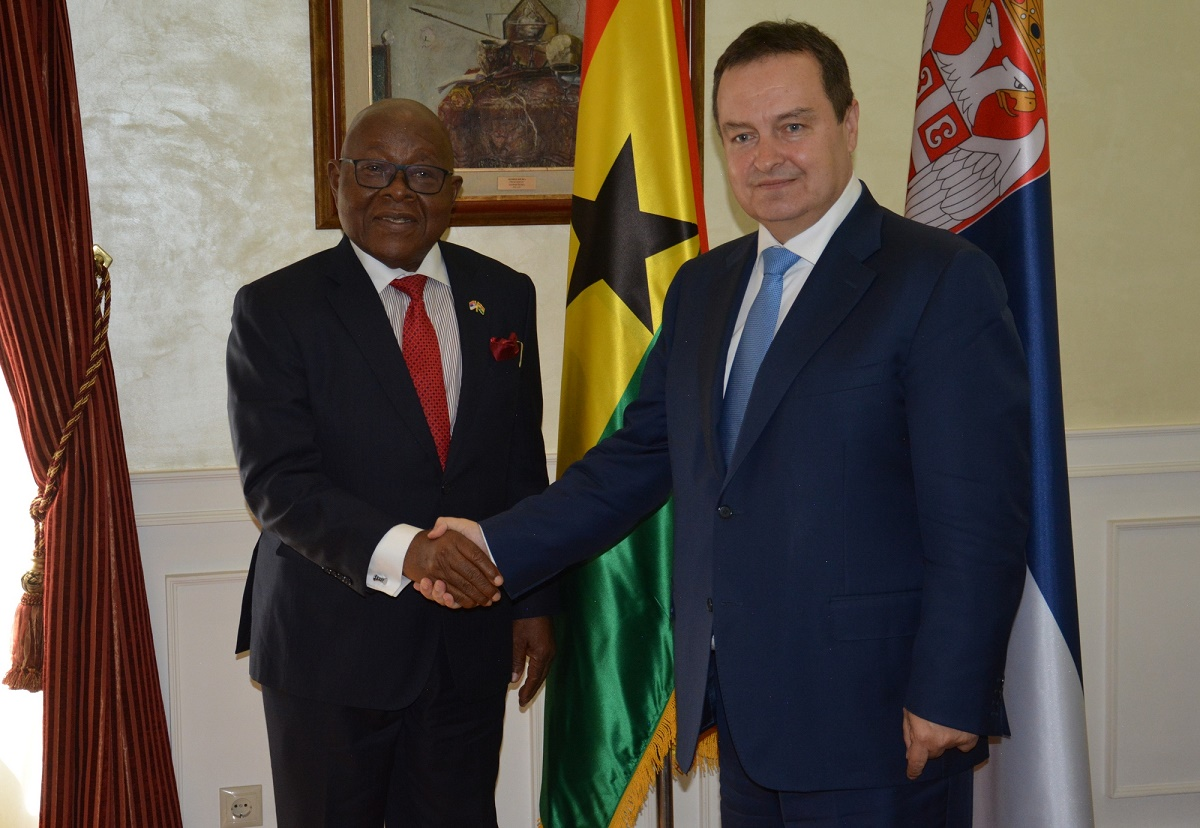 Ivica Dacic with Aaron Mike Oquaye