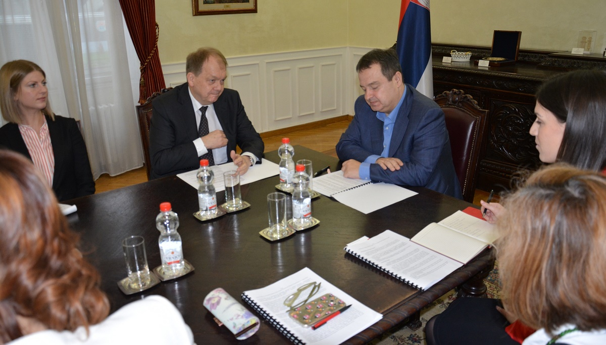 Ivica Dacic and Christian Hougard