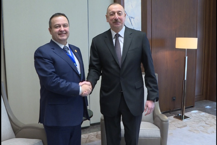Ivica Dacic with Ilham Aliyev