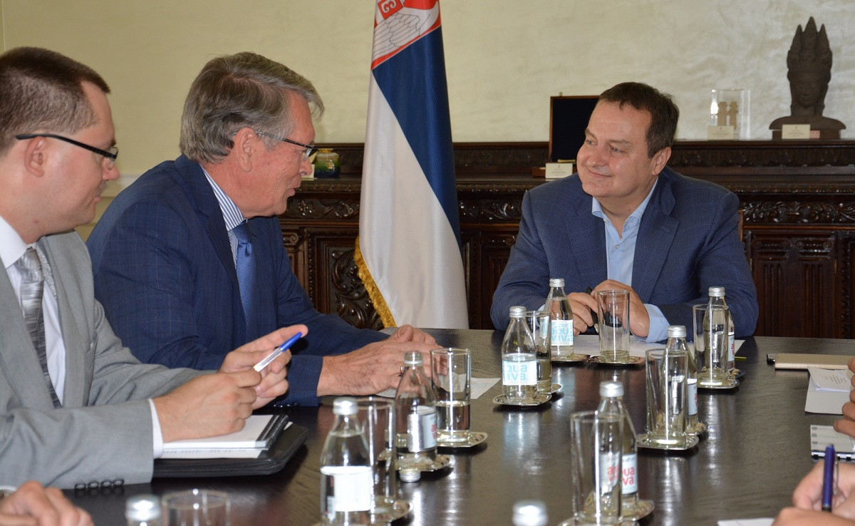 Ivica Dacic with H.E. Alexander Chepurin