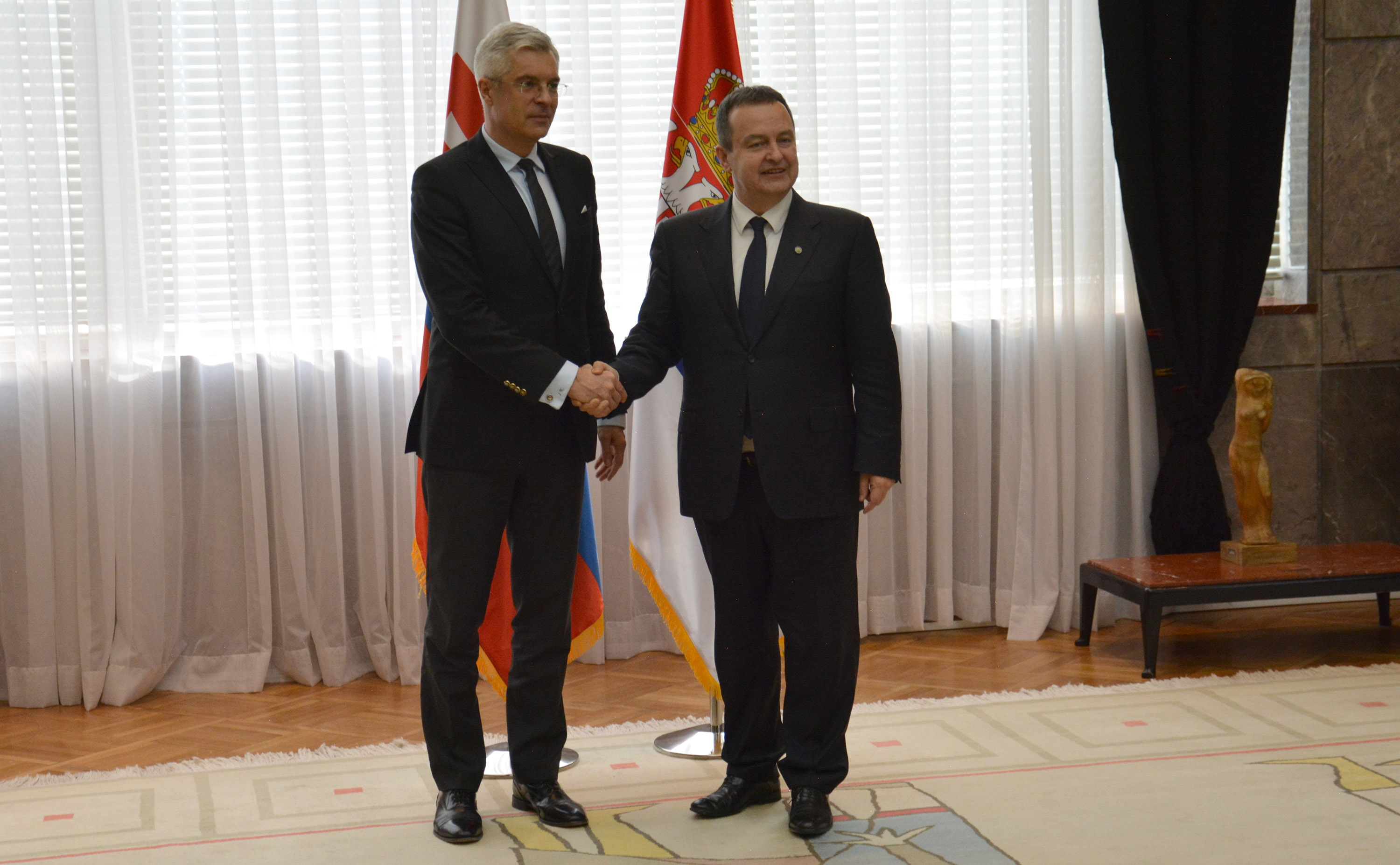Ivica Dacic and Ivan Korcok