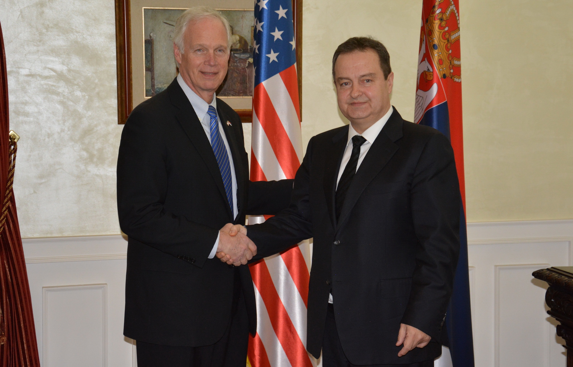 Ivica Dacic  Ron Johnson