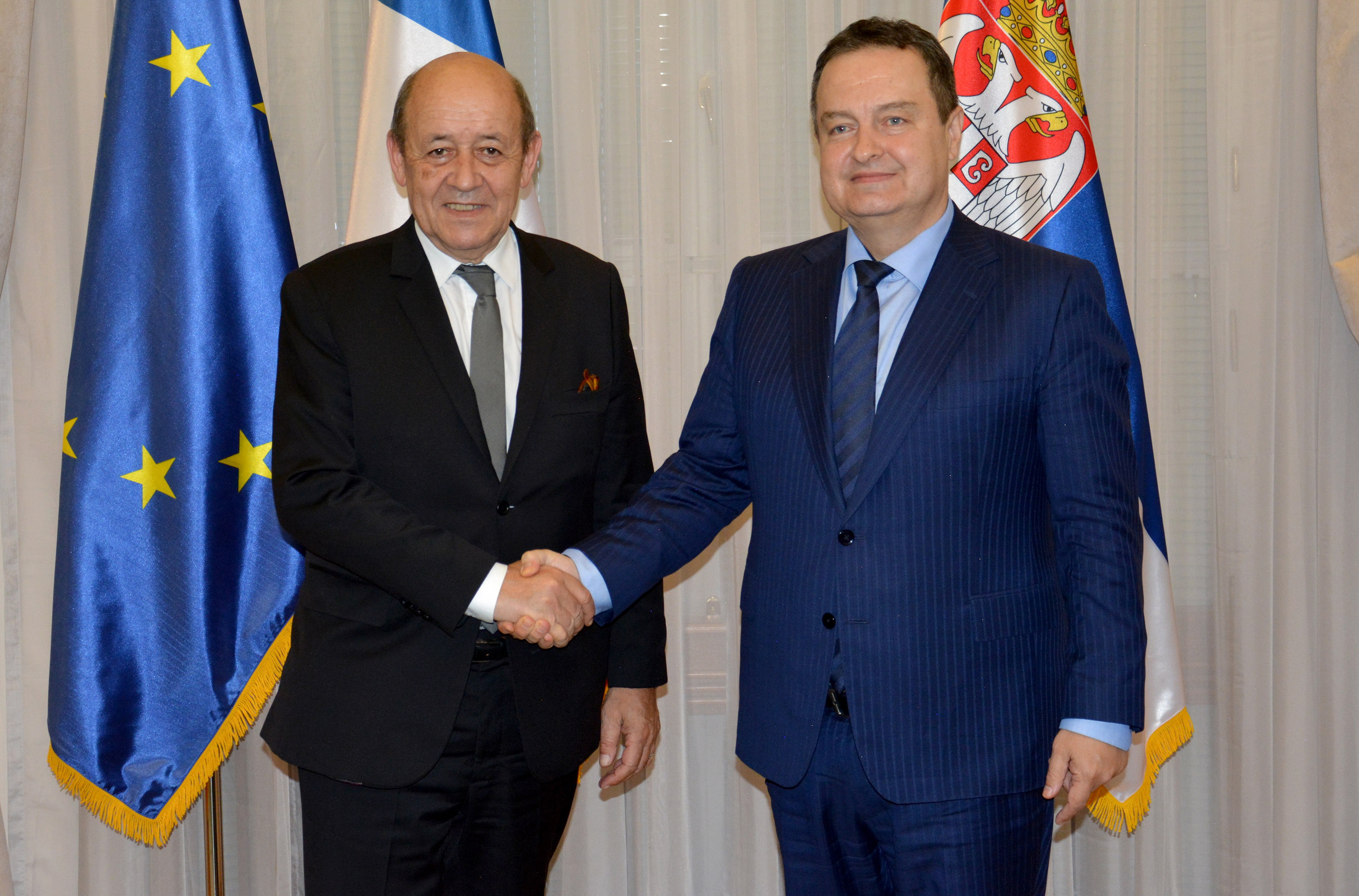 Dacic with Le Drian