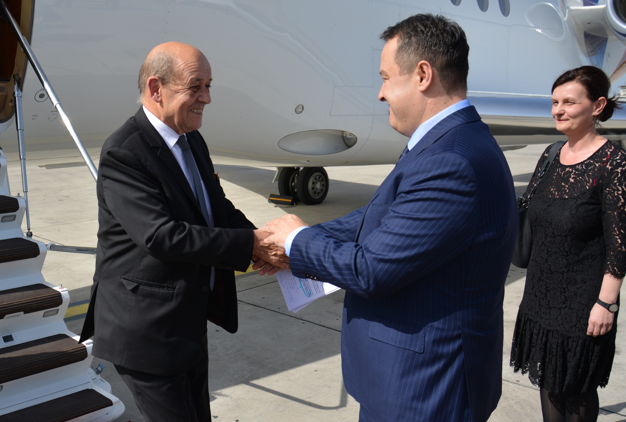 Dacic and Le Drian