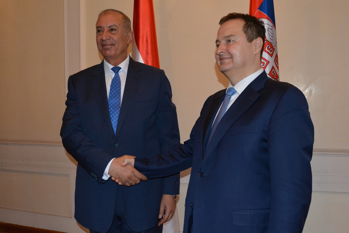 Ivica Dacic with Ahmed Abdullah